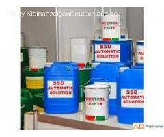 SSD chemical solution for cleaning coded money